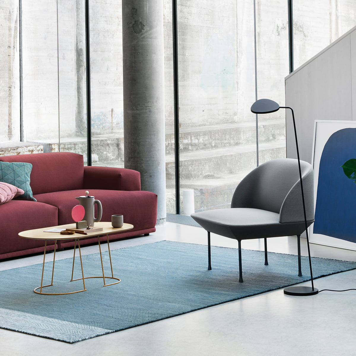 Oslo Lounge Chair Muuto Connox Ch