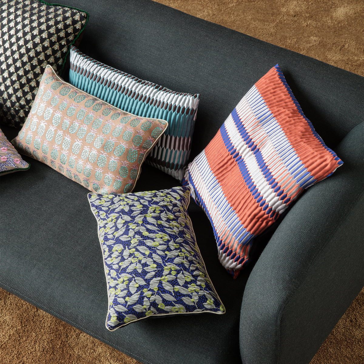 salon kissen rechteckig von ferm living. Black Bedroom Furniture Sets. Home Design Ideas
