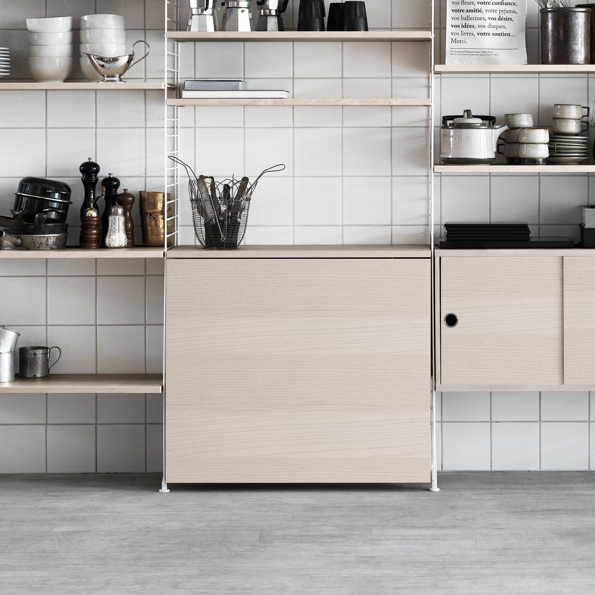 klapptisch von string. Black Bedroom Furniture Sets. Home Design Ideas