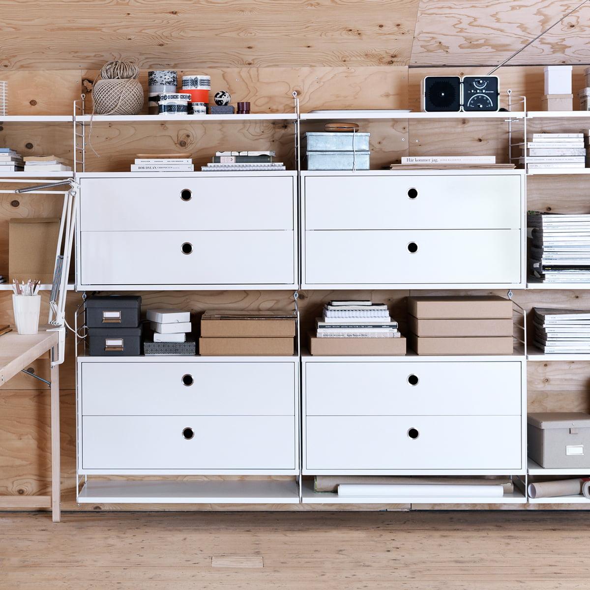 schubladen schrank f r string online kaufen. Black Bedroom Furniture Sets. Home Design Ideas