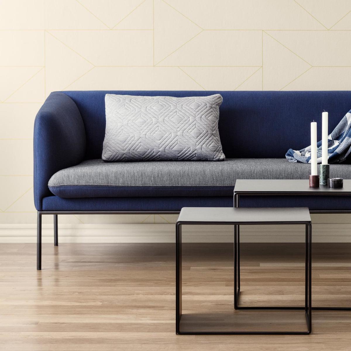 turn sofa 2 sitzer von ferm living. Black Bedroom Furniture Sets. Home Design Ideas