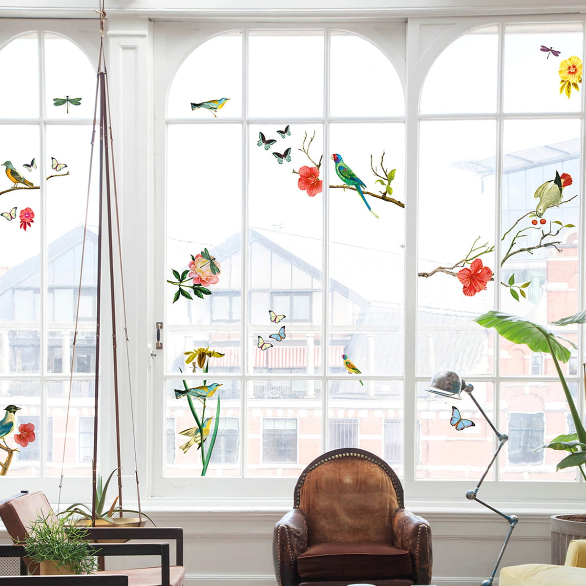 Fensterdekoration Vögel Von Fatboy