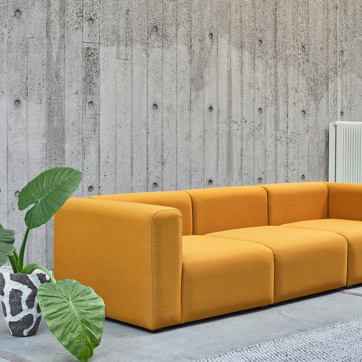 Das Hay   Mags Soft Sofa 3 Sitzer Steelcut Trio 446