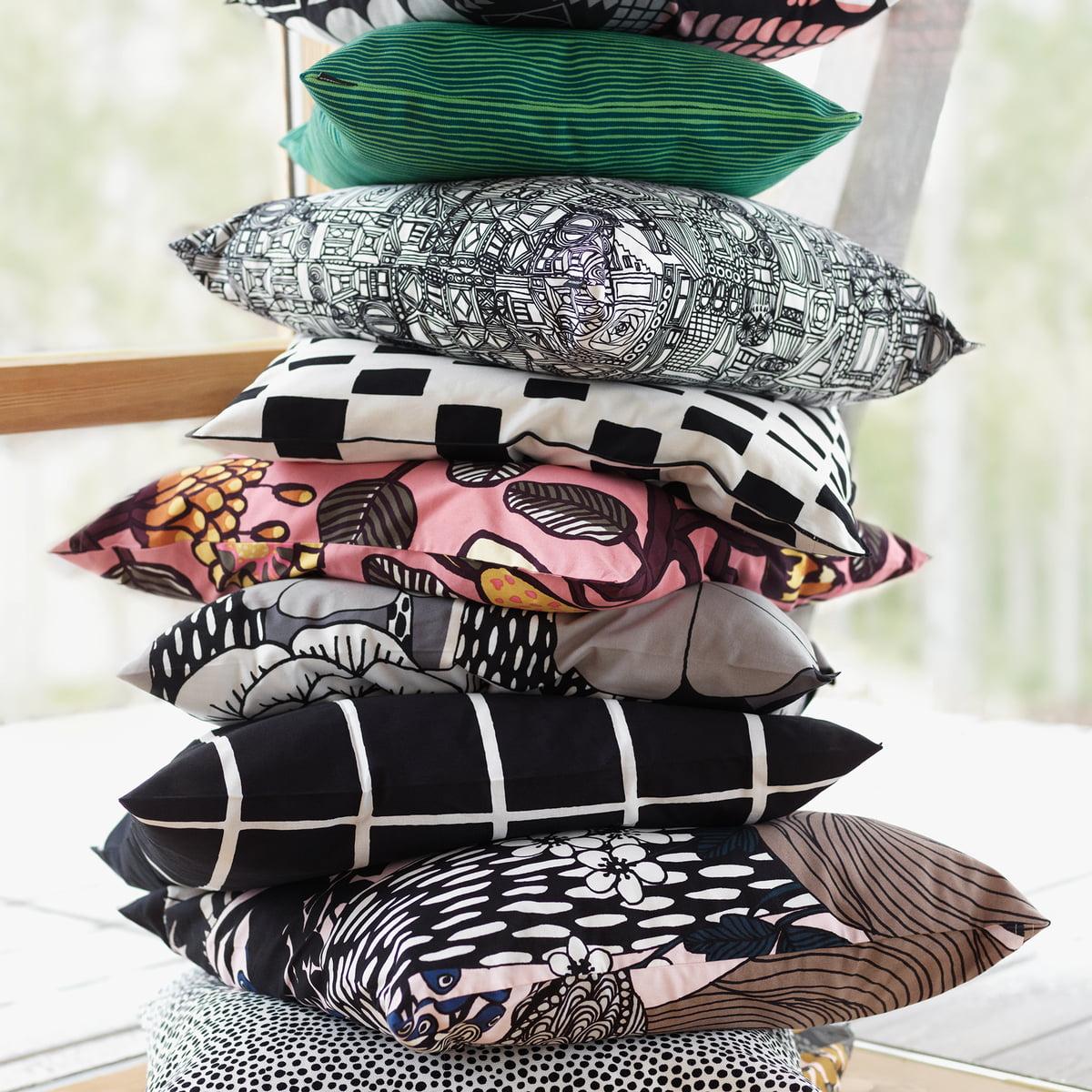 tiiliskivi kissenbezug 40 x 60 cm von marimekko. Black Bedroom Furniture Sets. Home Design Ideas