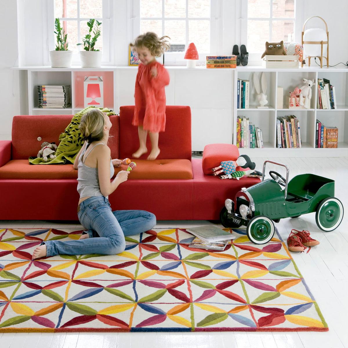 kala teppich von nanimarquina. Black Bedroom Furniture Sets. Home Design Ideas