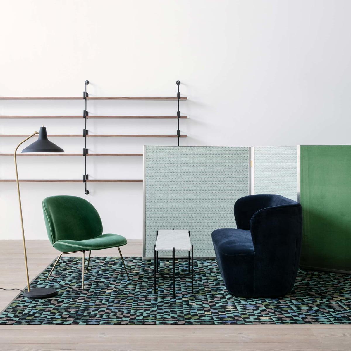 beetle lounge chair von gubi. Black Bedroom Furniture Sets. Home Design Ideas