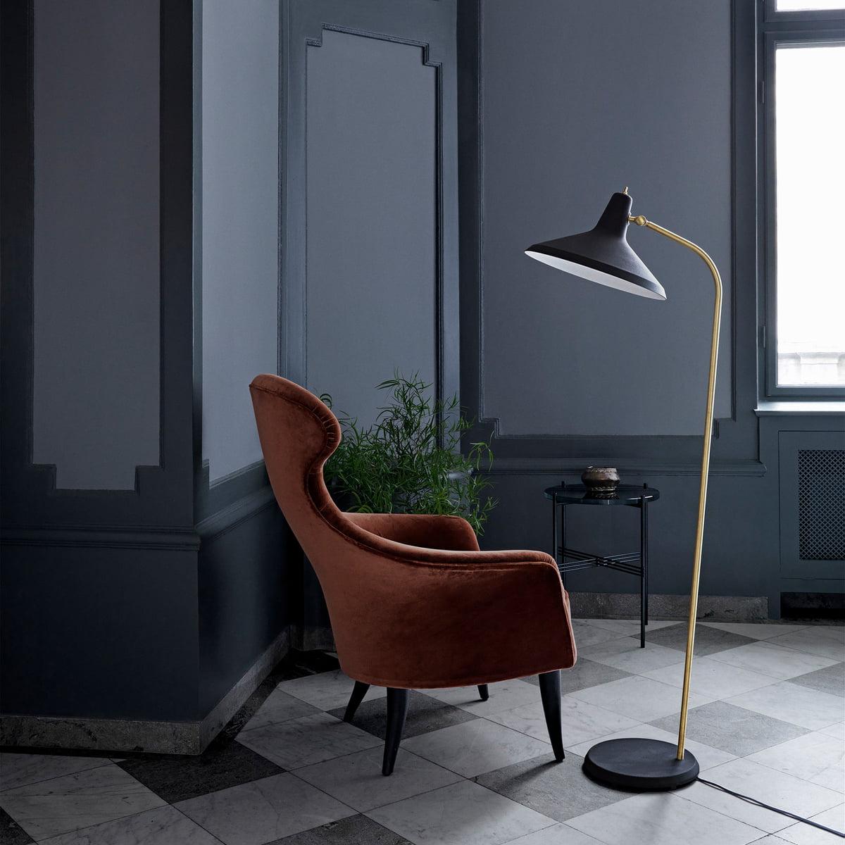 g10 stehleuchte von gubi. Black Bedroom Furniture Sets. Home Design Ideas