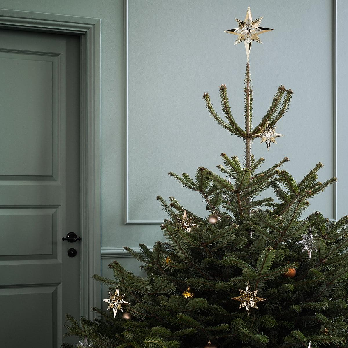 tannenbaumspitze stern von rosendahl connox. Black Bedroom Furniture Sets. Home Design Ideas