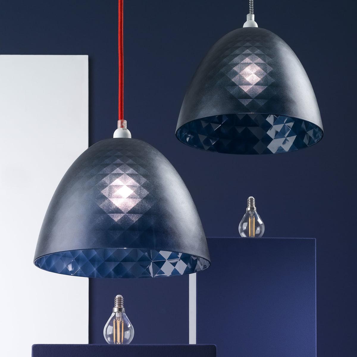 pendel f r lampenschirme von koziol connox. Black Bedroom Furniture Sets. Home Design Ideas