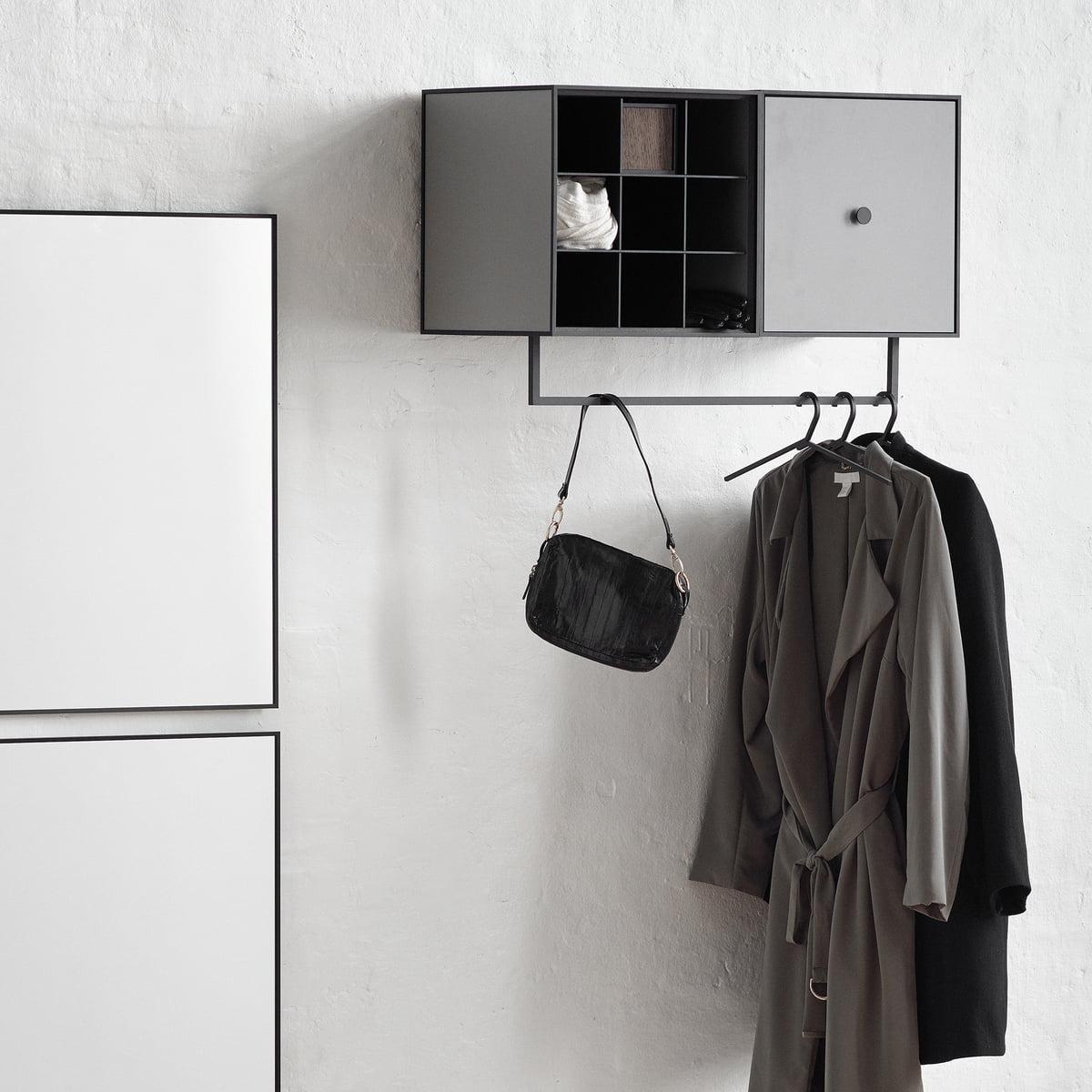 Metall kleiderb gel by lassen for Garderobenstange design