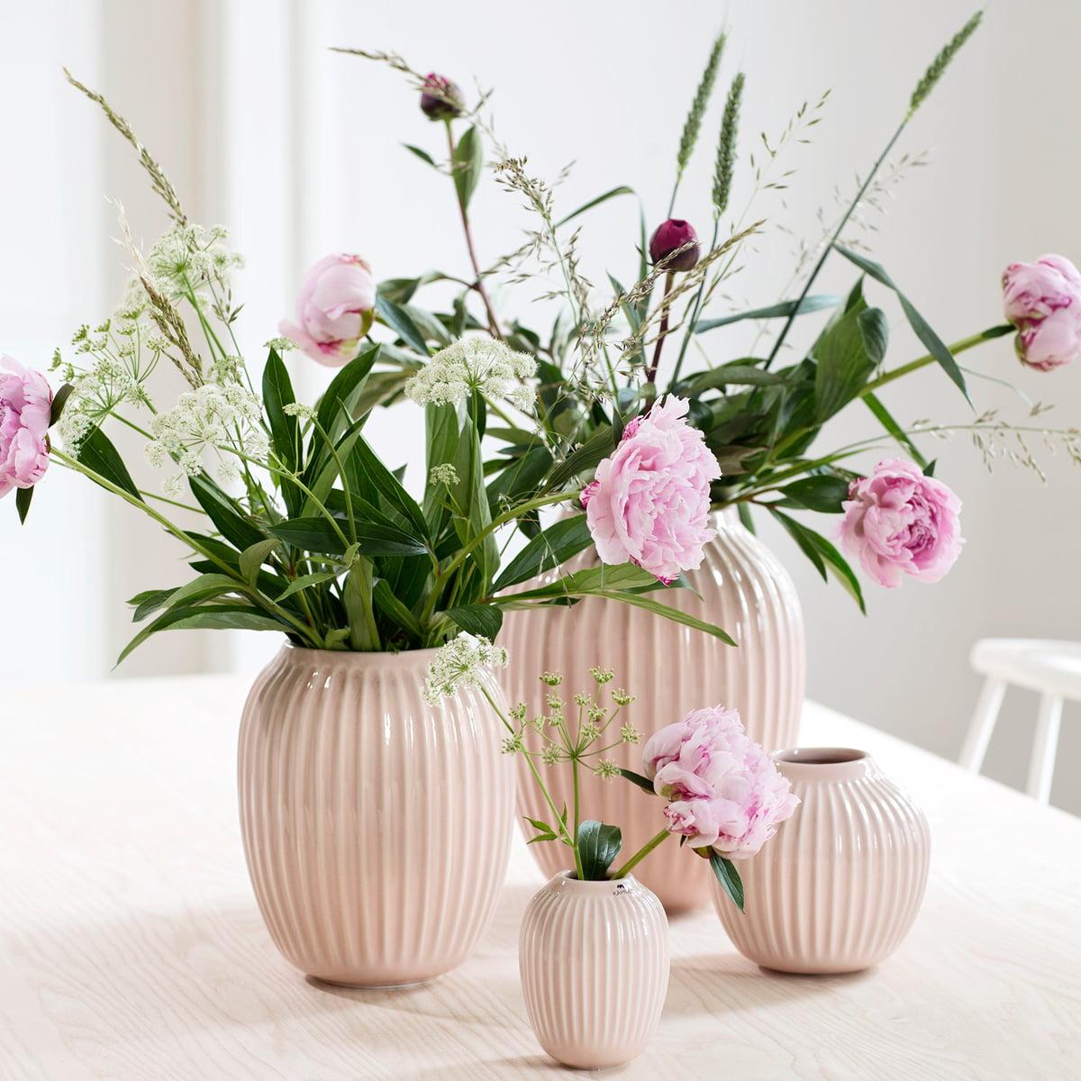 rillen vase hammersoi k hler. Black Bedroom Furniture Sets. Home Design Ideas