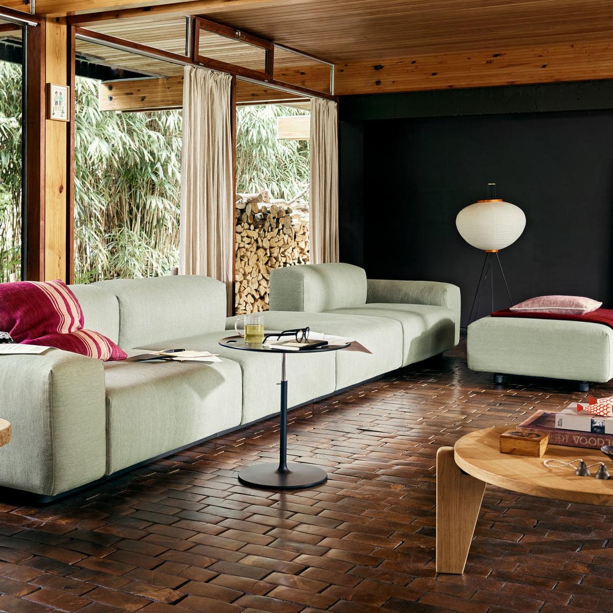soft modular sofa 3 sitzer von vitra bei. Black Bedroom Furniture Sets. Home Design Ideas