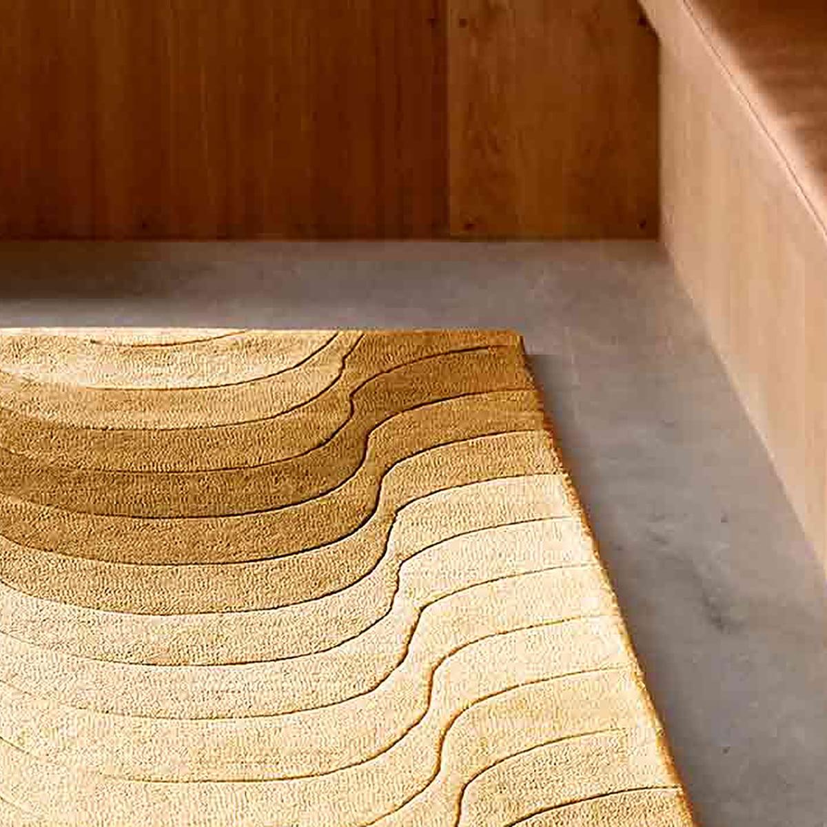 wave retro teppich von verpan. Black Bedroom Furniture Sets. Home Design Ideas