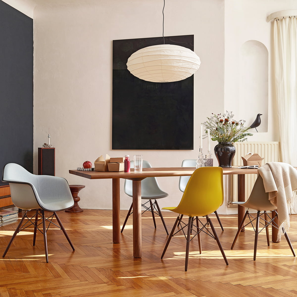 Great Vitra Eames Plastic Side Chair Dsw With Eames Chair Vitra
