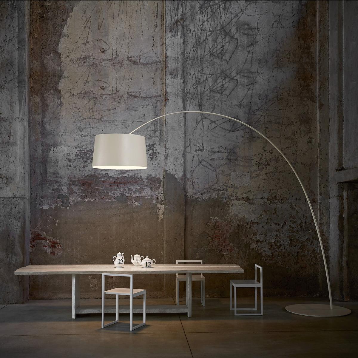 twice as twiggy led bogenleuchte von foscarini. Black Bedroom Furniture Sets. Home Design Ideas