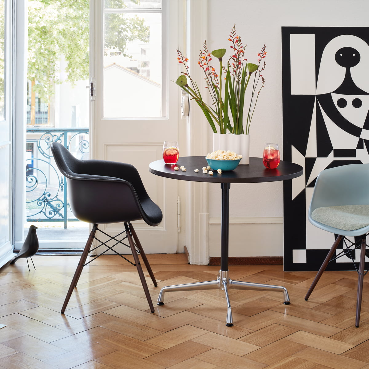 eames daw stuhl von vitra bei. Black Bedroom Furniture Sets. Home Design Ideas