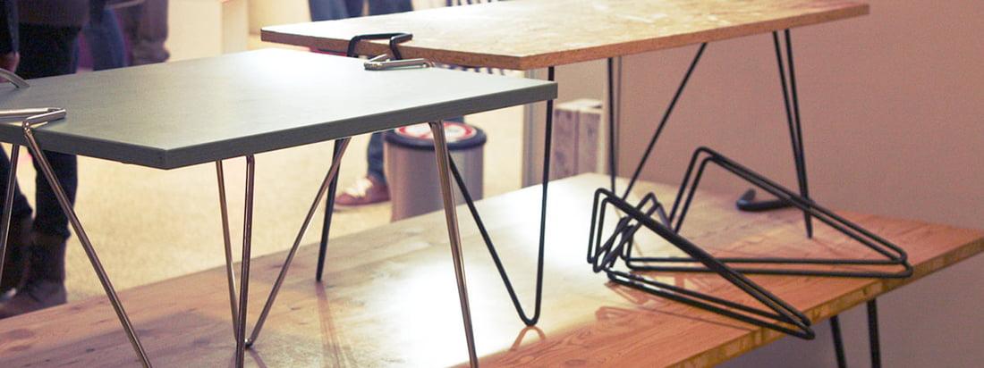 linie 58 design tischbeine online kaufen. Black Bedroom Furniture Sets. Home Design Ideas