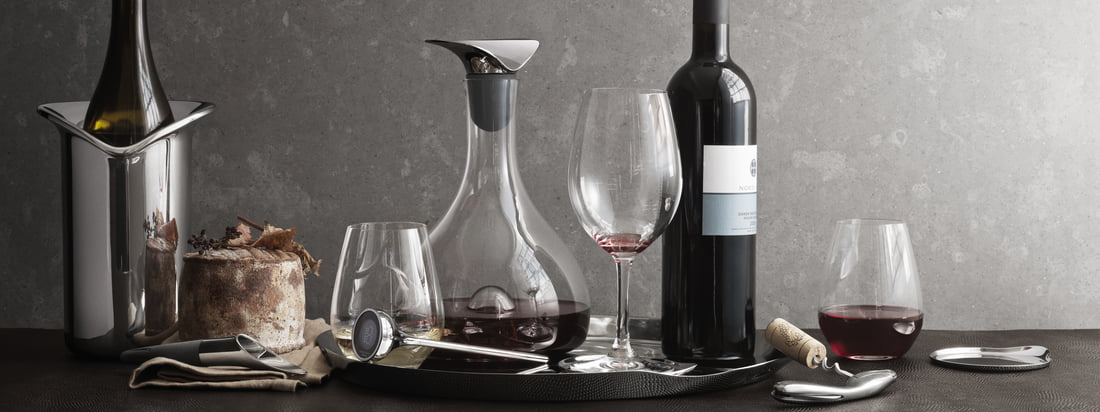 Georg Jensen - Wine & Bar Kollektion - Kollektionsbanner