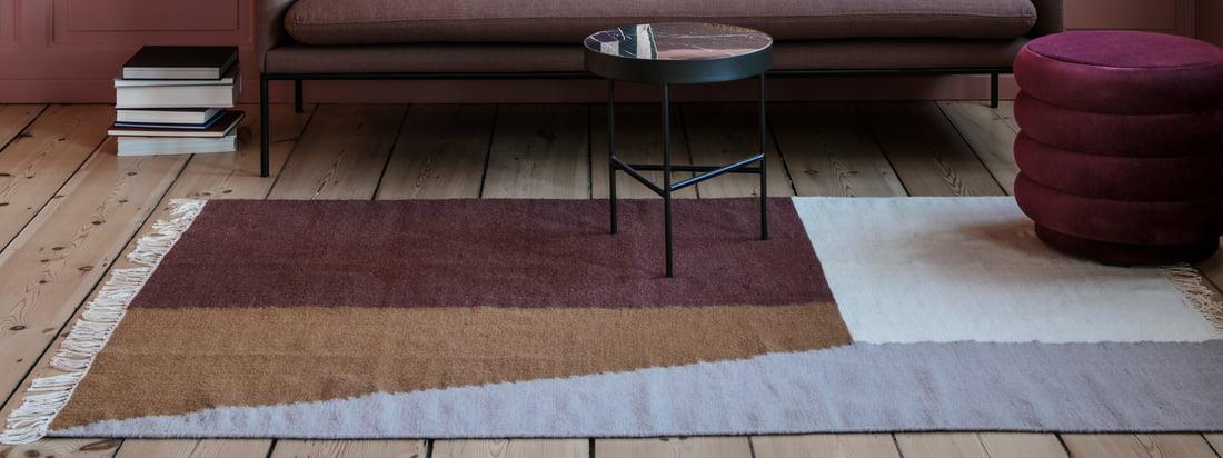 ferm living - Kelim Teppich Square - Kollektionsbanner