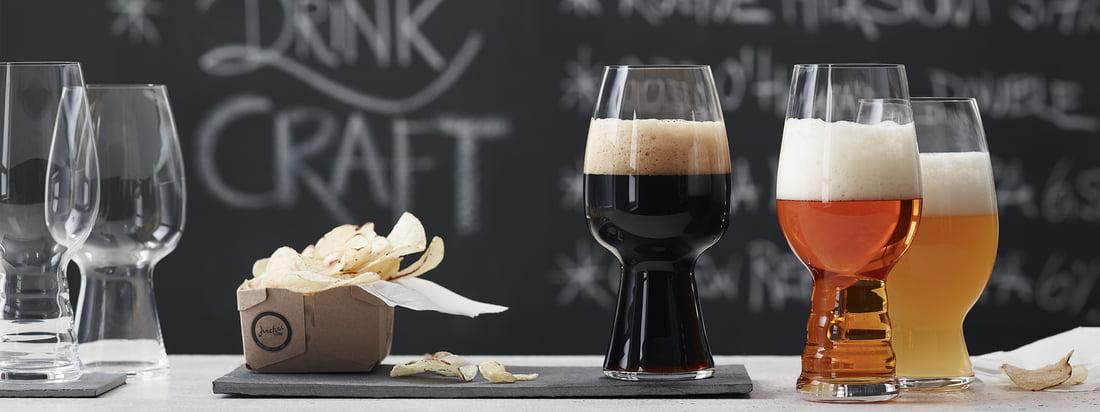 Spiegelau - Craft Beer Glas-Serie - Banner 3840x1440