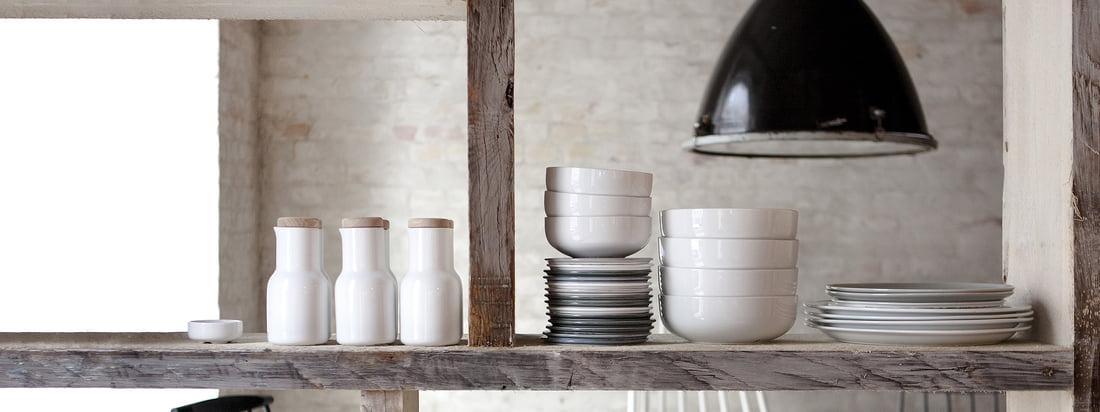 Schöne Formen und exzellente Nutzbarkeit: New Norm setzt neue Standards für zeitloses Skandinavisches Design! New Norm ist eine Produkt-Kollektion des dänischen Herstellers Menu.