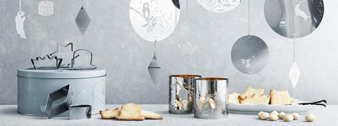 Keksdosen, Ausstechformen und viele weitere Backutensilien sind unverzichtbar für die traditionelle Weihnachtsbäckerei. Entdecken Sie hochwertiges Backzubehör im Design-Shop!