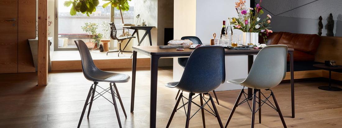 Vitra - Eames Fiberglass Chairs