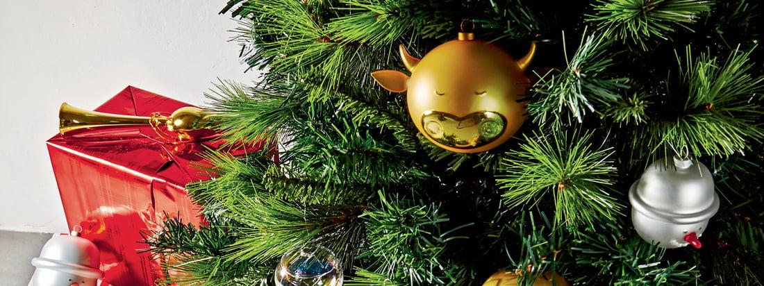 A di Alessi - Weihnachtsbaumkugeln