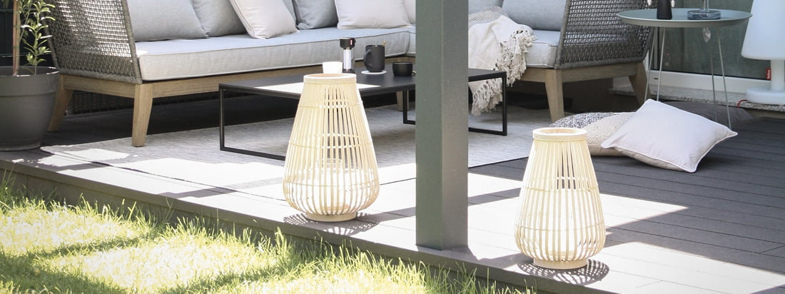 Outdoor-Ambiente - Connox Collection Windlichter