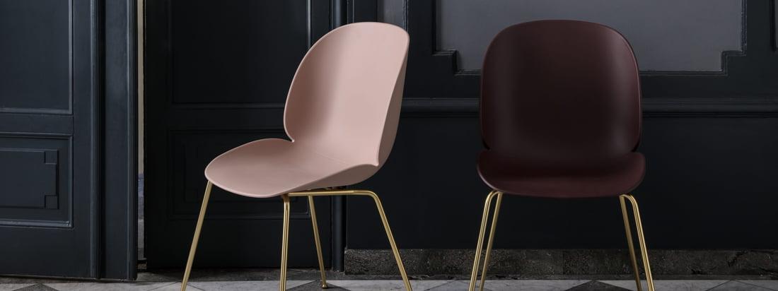 Der Beetle Dining Chair von Gubi mit Conic Base ist eine optimale Lösung für jeden Wohnraum und macht sich auch gut an öffentlichen Orten wie Hotels oder Restaurants.