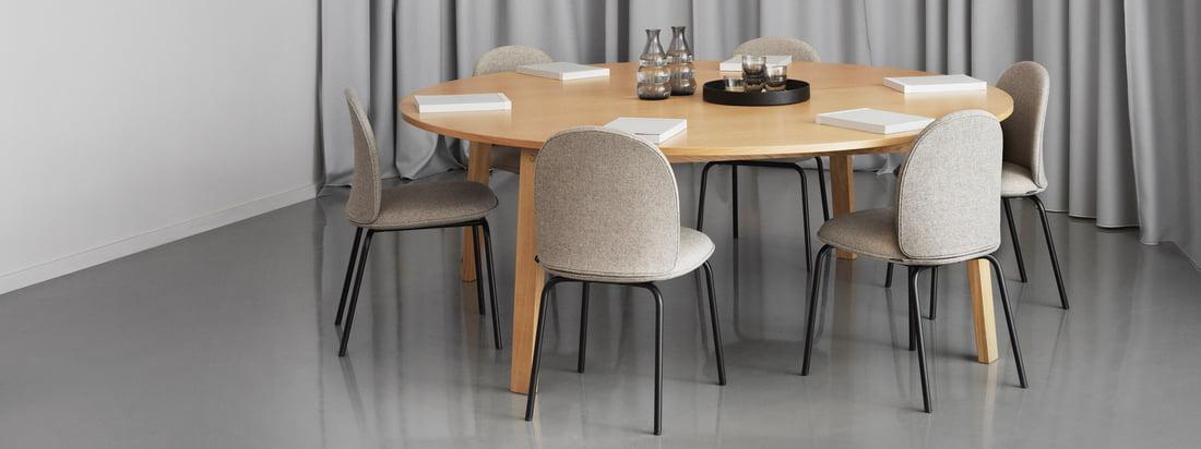 Normann Copenhagen - Slice Tische