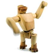 Areaware - Wooden Creatures - Hanno der Gorilla