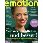 Emotion - Nr. 2 / 2013, Cover