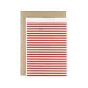 Karte - Stripetown Pop Grusskarte