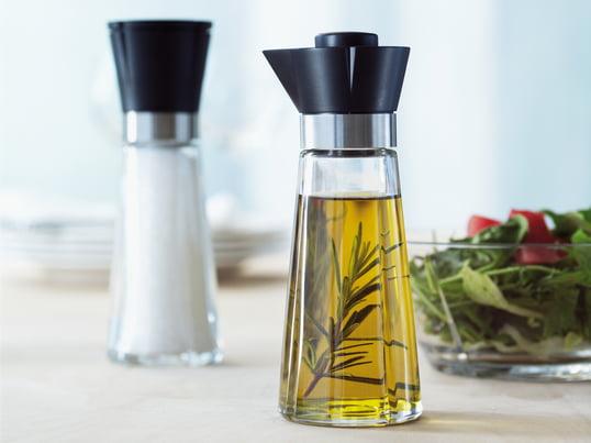 Die Grand Cru Serie mit der Salzmühle und der Öl-/Essigflasche von Rosendahl sind ideale Begleiter auf Ihrem Esstisch. Sie überzeugen durch ihre Funktionalität und Optik.