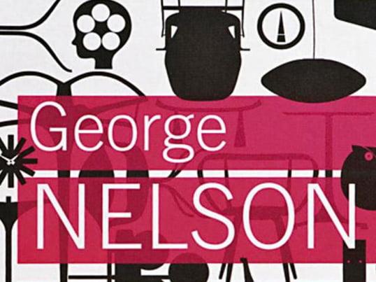 Das Buch George Nelson: Architext-Writer-Designer-Teacher aus dem Vitra Design Museum widmet sich allen Bereichen von Nelsons schaffen, von denen viele hier erstmalig besprochen werden.