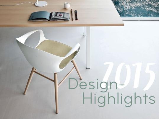 Connox lässt das Jahr 2015 Revue passieren. Der italienische Hersteller Kristalia ist nur eine der 53 neuen Marken und sein Stuhl Elephant nur eine der vielen aussergewöhnlichen Neuheiten.