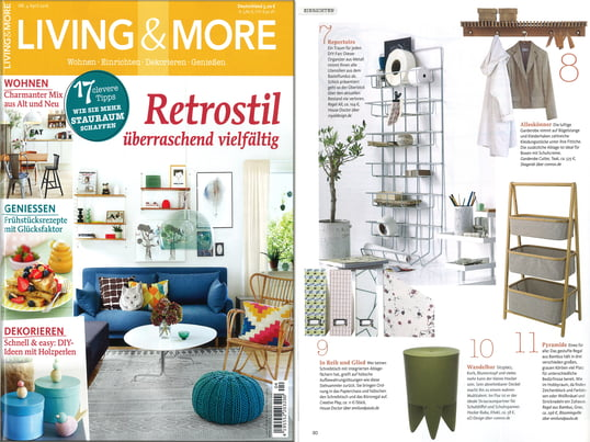 Living & More April 2016 Inhalt