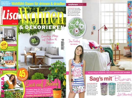 Lisa Wohnen & Dekorieren - Mai 2016 Inhalt