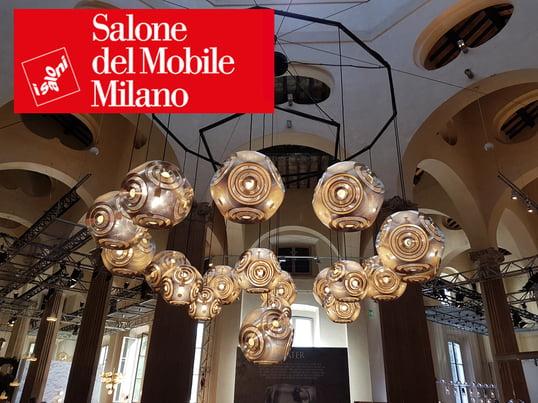 Messe-Neuheiten auf der Salone del Mobile, die wichtigste Design-Messe der Wohn- und Möbelbranche, die letzte Woche zum 55. Mal in Mailand stattfand.