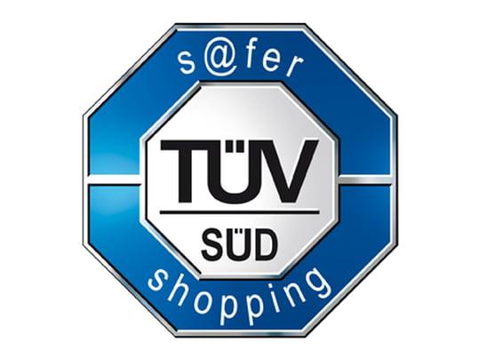 Geprüfte Sicherheit: s@fer shopping - TÜV SÜD s@fer-shopping Prüfzeichen