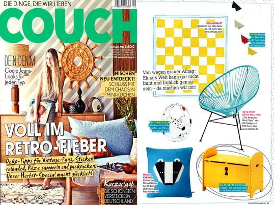 Couch, Nr. 10/2016 Inhalt