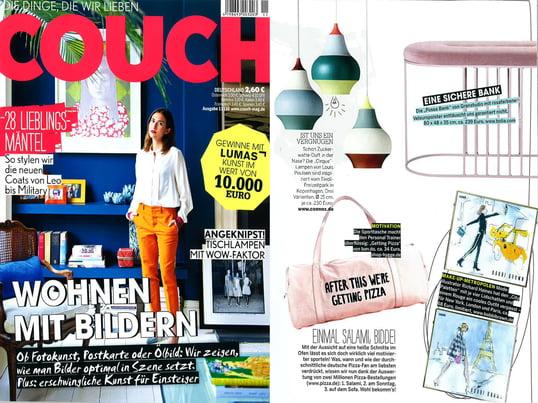 Couch, Nr. 11/2016 Inhalt
