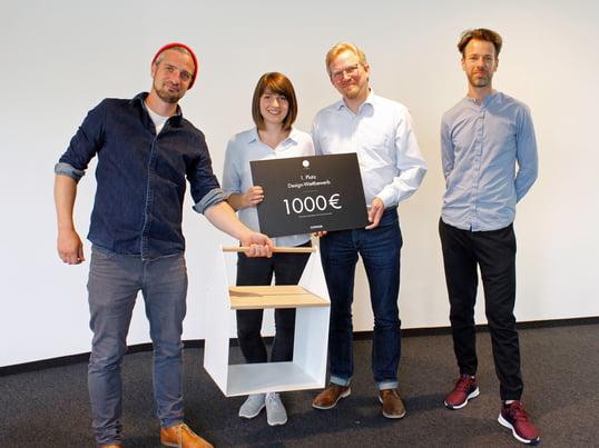 """Das """"Handy House"""" von Lea Schöning gewinnt den HAWK Designwettbewerb."""
