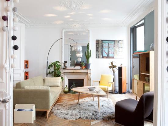 Ein Design Wohnzimmer Mit Fifties Charme