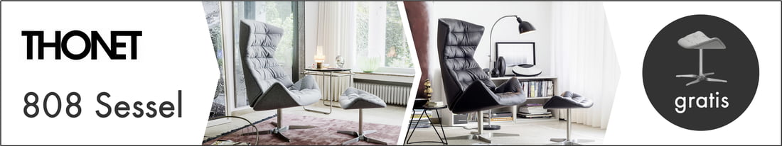Kategoriebanner: Thonet - 808 Lounge-Sessel