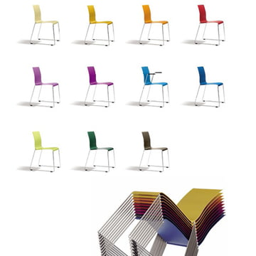 Sting 030 Stuhl von Bla Station in verschiedenen Farben