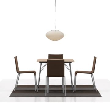Vitra - Chair .03, Gruppe mit Esstisch
