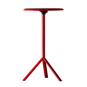 Plank - Miura Table, Höhe 109 cm, verkehrsrot (RAL 3020)