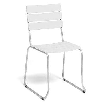 Balcony Stuhl von Weishäupl in Weiss